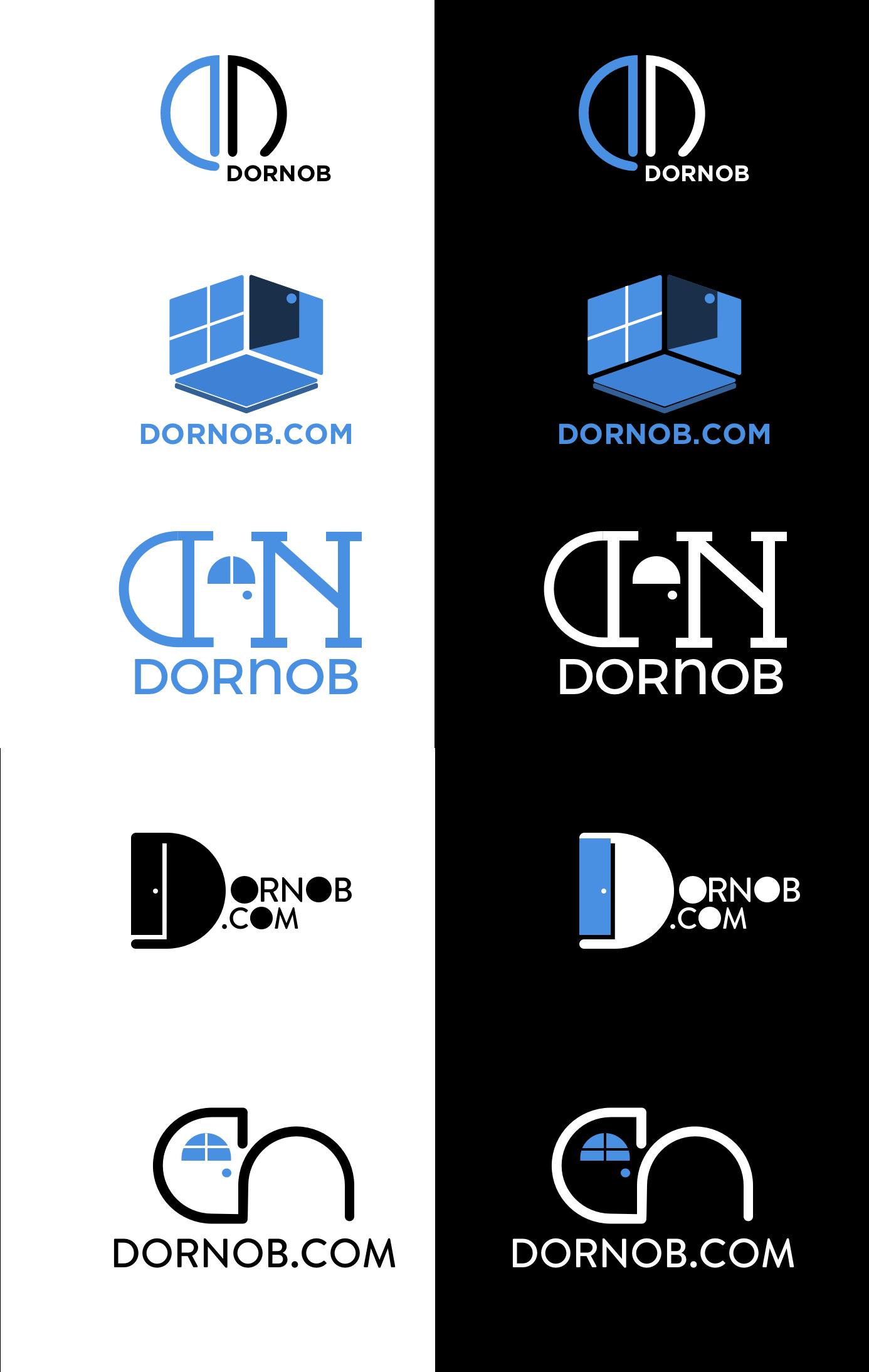 Dornob com logo and site redesign | hiAngela com